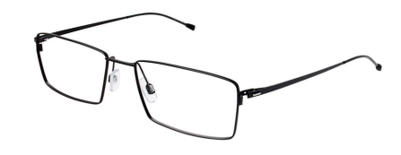 Morel 7386L Black Photo Credit: Morel Eyewear
