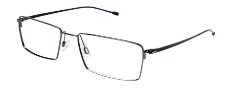 Morel 7386L Ruthenium Photo Credit: Morel Eyewear